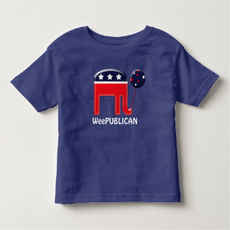 Baby republican political party mascot toddler t-shirt
