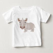 Baby Rhino Baby T-Shirt