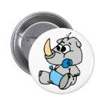 Baby Rhino Pins