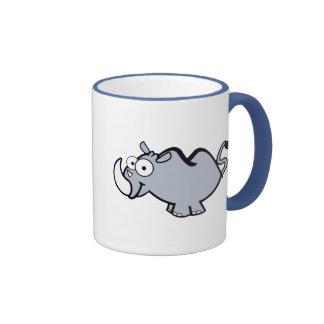 Baby Rhinos Ringer Coffee Mug