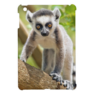 Baby ring-tailed lemur case for the iPad mini