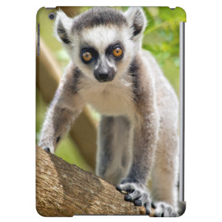 Baby ring-tailed lemur iPad air covers