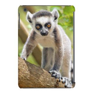 Baby ring-tailed lemur iPad mini retina cover