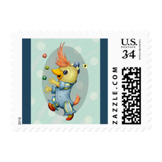 """BABY RIUS CARTOON  Small 1.8"""" x 1.3"""" Postage"""