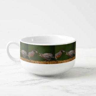 Baby Robin Soup Mug