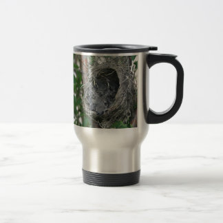 Baby Robins in the Nest Travel Mug