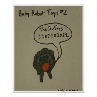 Baby Robot Toys #2 Poster