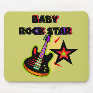Baby Rock Star T-shirts and Gifts Mouse Pad