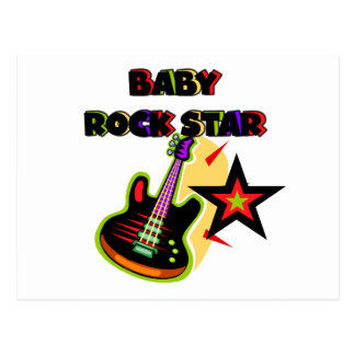 Baby Rock Star T-shirts and Gifts Postcard
