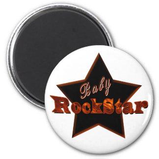Baby RockStar 2 Inch Round Magnet