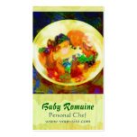 Baby Romaine Personal Chef Double-Sided Standard Business Cards (Pack Of 100)