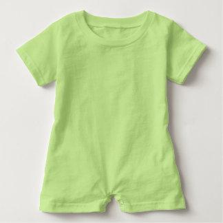 Baby Romper Key Lime Green
