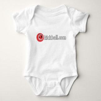 Baby Romper - Kickball.com Wordmark