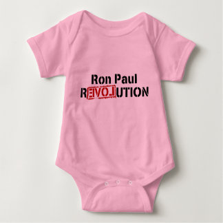 baby Ron Paul cured my apathy Baby Bodysuit