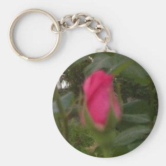 baby rose keychain