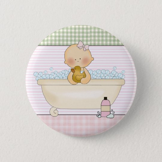 Baby- Round Buttons: Sweet Baby Collection Pinback Button