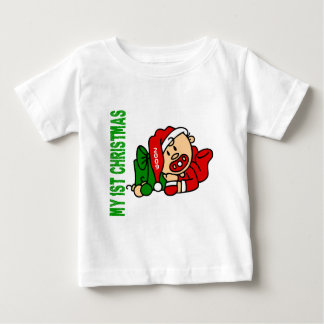 Baby's 1st Christmas Dated BOY T-shirt