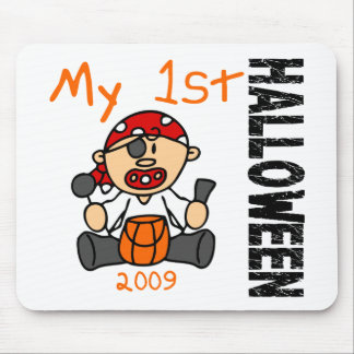 Baby's 1st Halloween 2009 Pirate BOY Mouse Pad
