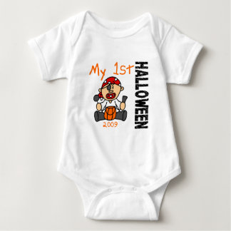 Baby's 1st Halloween 2009 Pirate BOY T Shirts