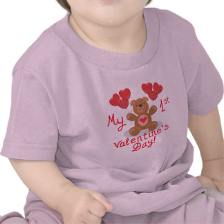 Baby s 1st Valentine s Day Tees