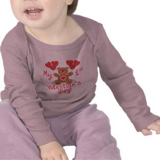 Baby s 1st Valentine s Day Tshirts