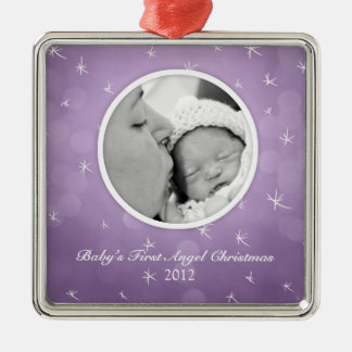Baby s First Angel Christmas Custom Ornament