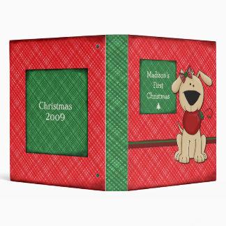 Baby s First Christmas - Customizable Binders