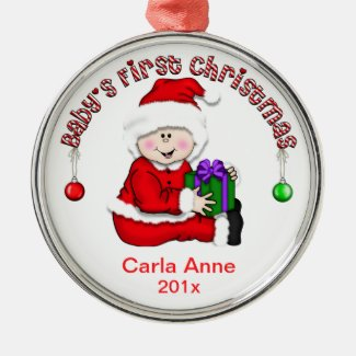 Baby 's First Christmas Ornament (CA1)