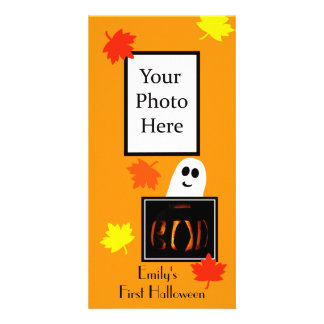 Baby s First Halloween Photo Card