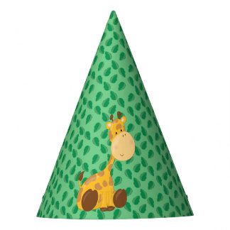 Baby Safari Animals Party | Giraffe Party Hat