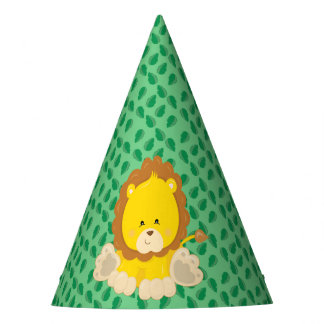 Baby Safari Animals Party | Lion Party Hat