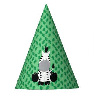 Baby Safari Animals Party   Zebra Party Hat