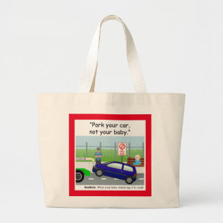 Baby Safety Large Tote Bag