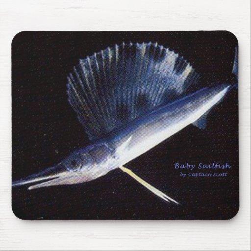 Baby sailfish mouse pads