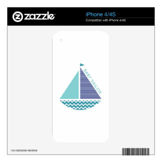 Baby Sailor Skin For iPhone 4S