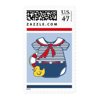 Baby Sailor Suit A Postage