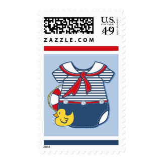 Baby Sailor Suit A Postage Stamps