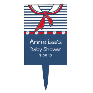 Baby Sailor Suit B Cake Topper