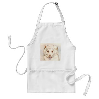 Baby Samoyede Puppy - SUPER CUTE Apron