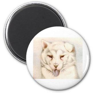 Baby Samoyede - SUPER CUTE ! 2 Inch Round Magnet