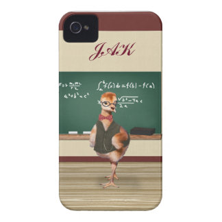 Baby Sandhill Crane as a Teacher, Monogram iPhone 4 Case-Mate Case