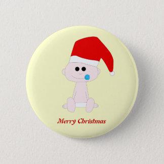 Baby Sante Button Template