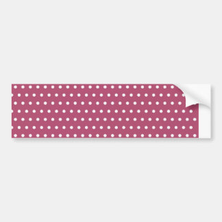 baby scores polka dots hots samples scored dabs bumper sticker
