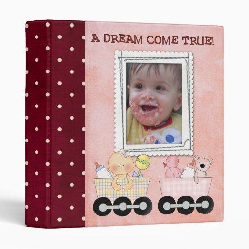 baby scrapbook/ photo album binder