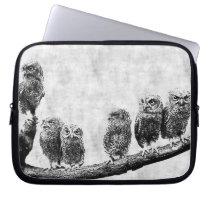 Baby Screech Owls  Electronics Sleeve