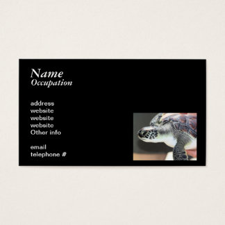 Baby Sea Turtle Business Card