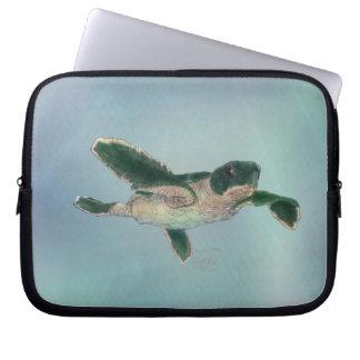 Baby Sea Turtle Computer Sleeve