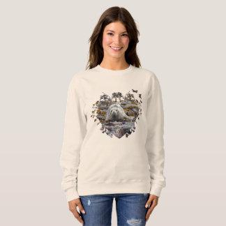 Baby seal animal wildlife jumper sweatshirt