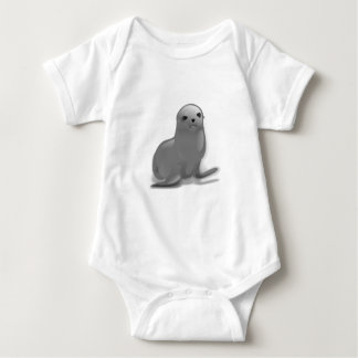 Baby Seal Baby Bodysuit