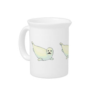Baby Seal Beverage Pitchers